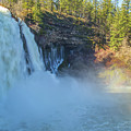 Burney Falls Wide View by Marc Crumpler
