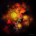 Burning Embers Nebula by Corey Ford