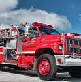 Burnington Iolta Fire Rescue - Tanker Engine 1550, North Carolina by Timothy Wildey