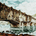 Burnt Covered Bridge by Maria Arnaudova