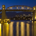 Burrard Street Bridge Vancouver by Naman Imagery