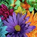Bursting Colors by John W Smith III