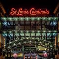 Busch Stadium Gate 3 by Susan Rissi Tregoning