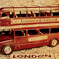 Buses Of Vintage England by Jorgo Photography - Wall Art Gallery