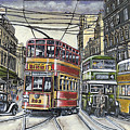 Buses Trams Trolleys by James Richardson
