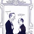 Bush And Salinas by Rafael Freyre