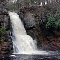 Bushkill Falls by Linda Sannuti