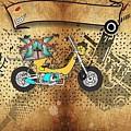 Business Card Tattoo by Evgenii Kuziakin