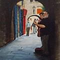 Buskers, Kilkenny by Tony Gunning