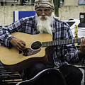 Busking In New Orleans, Louisiana by Chris Coffee