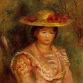Bust Of A Woman Gabrielle by Renoir PierreAuguste