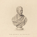 Bust Of Sir Walter Scott by James Thomson After Sir Francis Legatt Chantrey