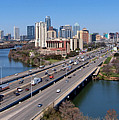 Busy Austin Texas by James Granberry