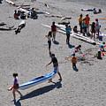 Busy Beach by Caroline Reyes-Loughrey