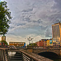 Busy O' Connell Bridge by Alex Art and Photo