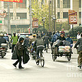 Busy Street, Shanghai by Inga Spence
