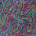Busy Unicorn Pattern by Ellen Jagger