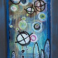 But Life Goes Easy, Abstract 8 by Laurie Maves ART