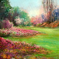 Butchart Garden by Sally Seago