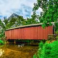 Butchers Mill Covered Bridge by Nick Zelinsky