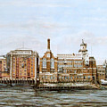 Butlers Wharf And Courage's Brewery by Mackenzie Moulton