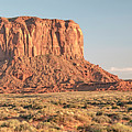 Butte, Monument Valley, Utah by A Gurmankin