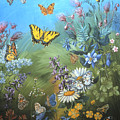 Butterflies And Wildflowers Of Wyoming by Dawn Senior-Trask