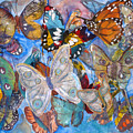 Butterfly Collage by Joyce Kanyuk