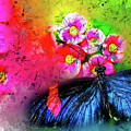 Butterfly Color Explosion by Kay Brewer