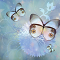 Butterfly Dreams Contemporary Art by Isabella Howard