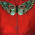 Butterfly Eyes by Leah Saulnier The Painting Maniac