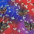 Butterfly Family Tree by Karen Jane Jones