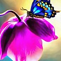 Butterfly Floral by Catherine Lott