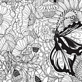 Butterfly Garden by Katerina Kirilova