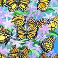 Butterfly Paradise by Karen Jane Jones