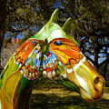 Butterfly Horse Ocala Florida by David Lee Thompson