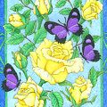 Butterfly Idyll-roses by Alison Stein