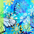 Butterfly In Flight #3  by Hao Aiken