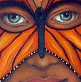 Butterfly Mask by Leah Saulnier The Painting Maniac