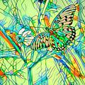 Butterfly Mosiac by Deborah Benoit