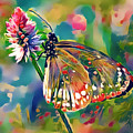 Butterfly Of Paradise 1 by Yury Malkov