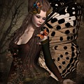 Butterfly Princess Of The Forest 2 by Ali Oppy