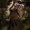 Butterfly Princess Of The Forest by Ali Oppy