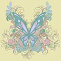 Butterfly Swirls by Alondra Hanley