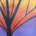 Butterfly Tree 1 by Sally Van Driest