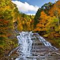 Buttermilk Falls 2 by Mark Papke