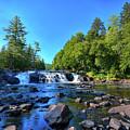 Buttermilk Falls by David Patterson
