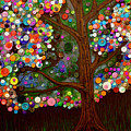 Button Tree 0007 by Monica Furlow