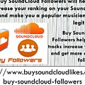 Buy Soundcloud Followers For Audience Attention- Buysoundcloudlikes by Patrick