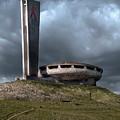 Buzludzha Monument In Bulgaria by Jaroslaw Blaminsky